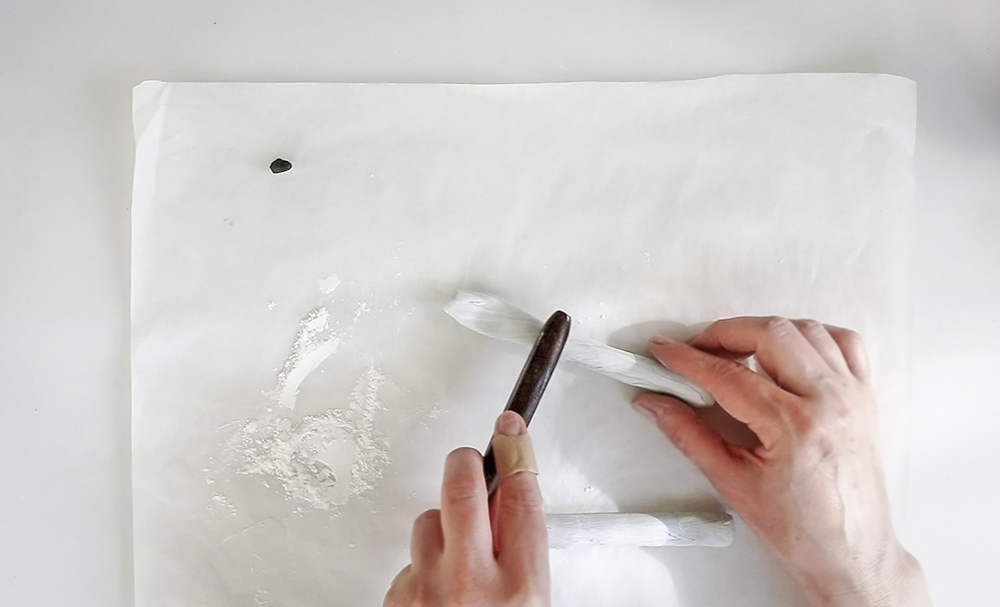 Brush Rest - shaping