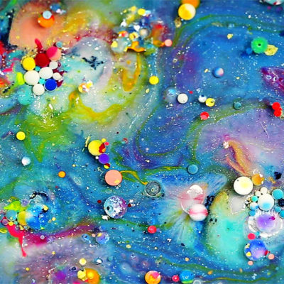 Colorful Liquids In Motion