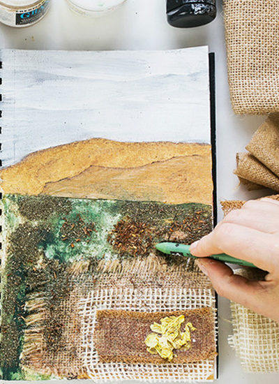Art Journal 3 - Natural Mixed Media